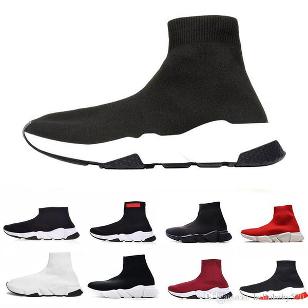 2019 balenciaga shoes Новый высокое качество Casual2 обувь дышащая мужская женская обувь спортивный тренер скорость роскошные кроссовки обучение носок кроссовки eur 36-45