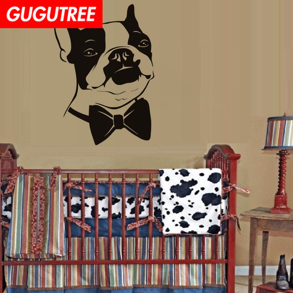 Decorate Home dogs cartoon art wall sticker decoration Decals mural painting Removable Decor Wallpaper G-2089