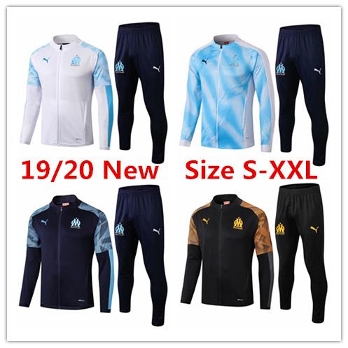 Marseille Jacket Football Coat Mens Jersey Suits Payet Ocampos Tracksuits 2019 Survêtement From Training Monclers 20 Balotelli Thauvin Winter nk8O0wP