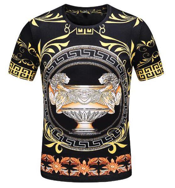 Camiseta de diseño de verano para hombre Camiseta de manga corta 100% algodón O-cuello Hombre Camiseta de camiseta Camiseta con tops Camisetas de Homme con etiquetas M-3XL
