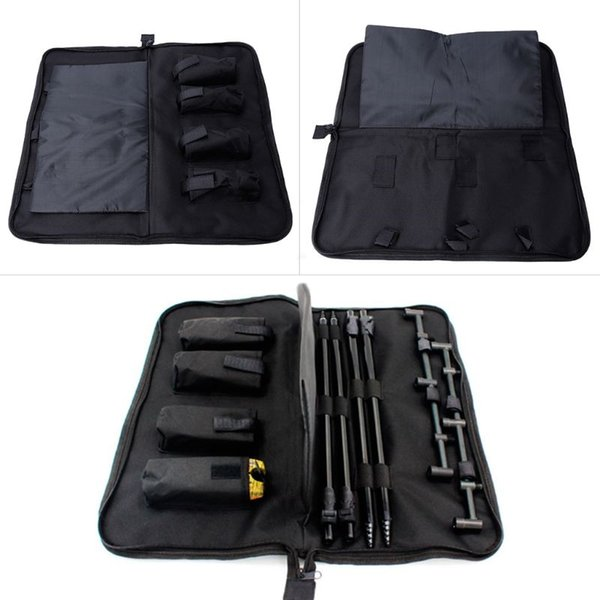Fishing Tackle Storage Nylon Bag Organizer Alarm Buzz Bar Pole Portable Zipper Professional Ultralight Waterproof Outdoor Tool #257868