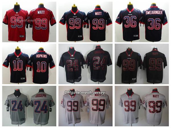 classic fit 045b9 c0379 2019 Men Houston Jersey Texans 99 J.J. Watt 10 DeAndre Hopkins 36 K. J.  Dillon 24 Johnathan Joseph Color Rush Football Stitching Jerseys From ...