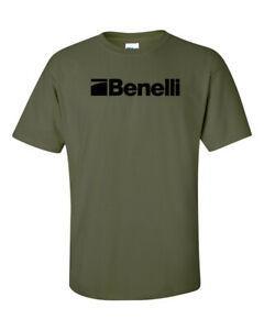 Benelli Senaryo BlaShort-Sleeve Logo Tişörtlü 2. Değişiklik Pro Gun Hakları RoShort-Sleeve Tabanca Yeni