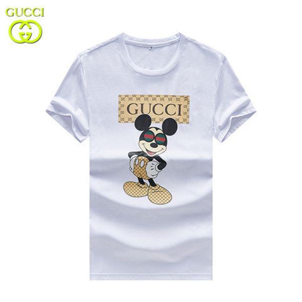 2019 Moda Yaz GC Marka Kısa Kollu Erkek Kadın T-Shirt TL008 Arılar tasarımcı İtalya tarzı Adam Giyim Etiketi Ile Tees Kaplan yılan