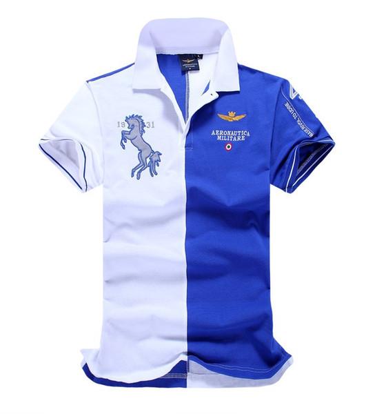 New top Poloshirt Solid Polo Shirt Men Luxury Polo Shirts short Sleeve Men's Basic Top Cotton Polos For Boys Brand Designer Polo Homme