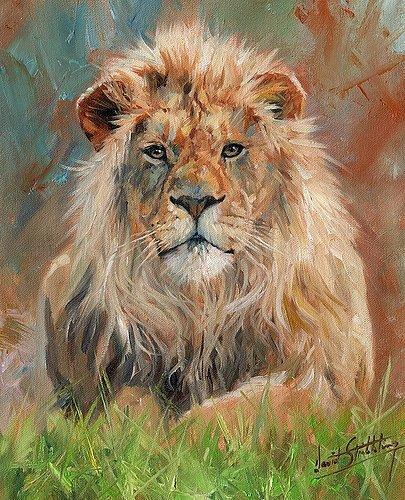 Artwork -10-lion- Unframed Modern Canvas Wall Art for Home and Office Decoration,Oil Painting ,Animal painatings ,frame.