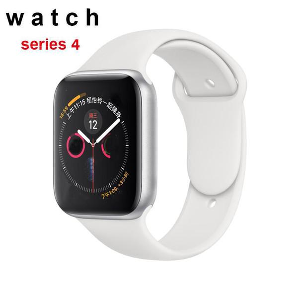 Iwo smart watch 44mm series 4 1to1 bluetooth smartwatch monitor de freqüência cardíaca esporte para huawei xiaomi iphone x xs goophone iwatch telefone relógios