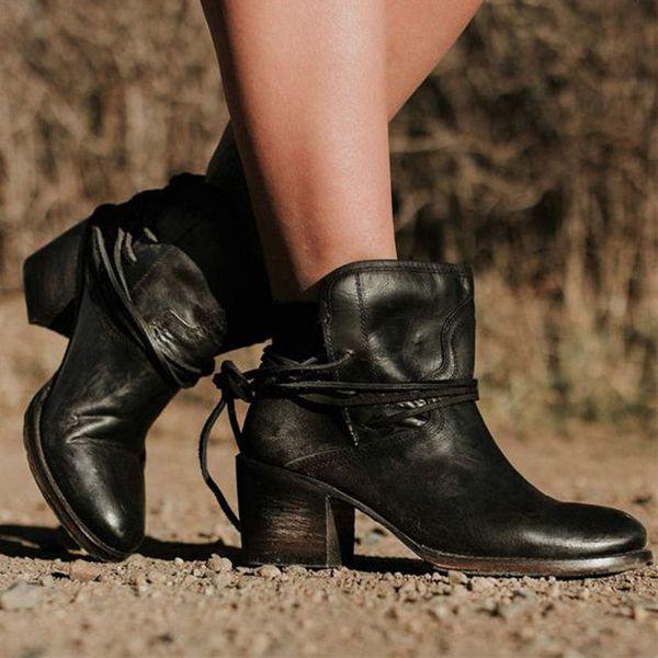 Tages Leder Auf High Rivet Großhandel Schuhe Short 61 Buckle Pu De Von Heels Frauen Knöchel dhgate Weibliche Stiefel Boots Kuabao25 com Oeak b7gYf6y