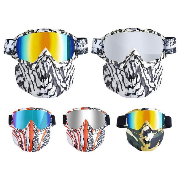 Maschere da sci da snowboard Maschere da sci da neve invernali Casco da cross Maschere da sci di fondo Maschera da spugna a tre strati Occhiali da equitazione Novità
