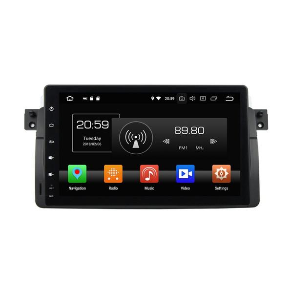 "PX5 Android 8.0 Octa Core 1 din 9"" Car DVD GPS for BMW E46 M3 1998-2005 4GB RAM 32GB ROM Audio RDS Radio Bluetooth 4G WIFI USB DVR"