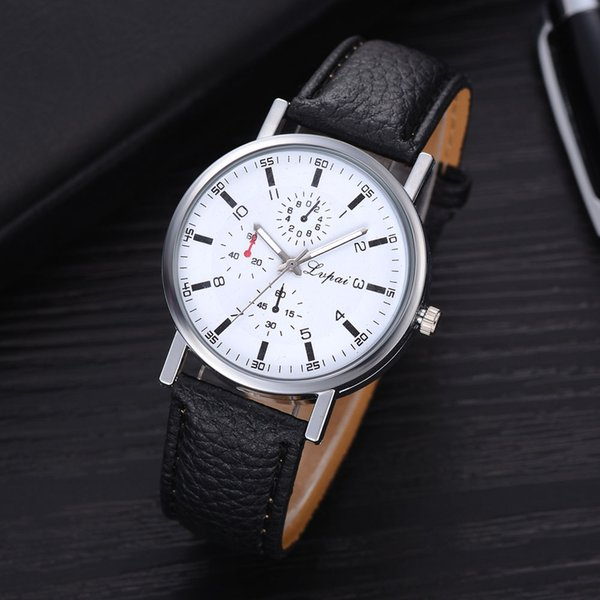 2019 men watch brand multifunctional luxury quartz stainless steel watches casual business wristwatches relogio masculino, Slivery;brown