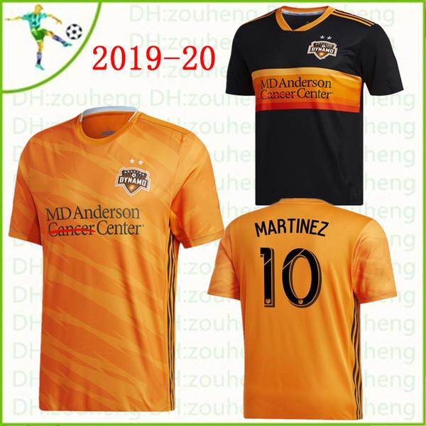 2019 MLS Houston Dynamo CALCIO JERSEY HOME away Maglia manica corta 19 20 ELIS MARTINEZ QUIOTO MANOTAS BEASLEY CAMICIE CALCIO