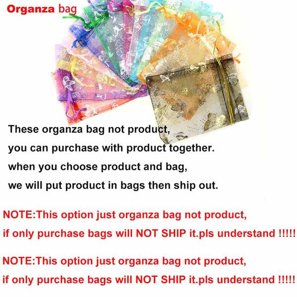 bolsa de organza (apenas bolsa para que no se entregue)