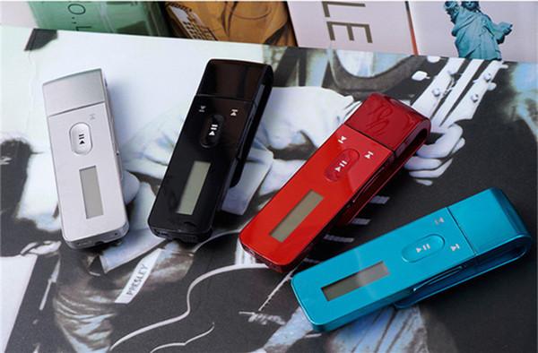 Novità 8GB HIFI Lossless MP3 di alta qualità entry-level portatile di sport della clip lettore musicale con dischi USB FM Radio Voice Recorder