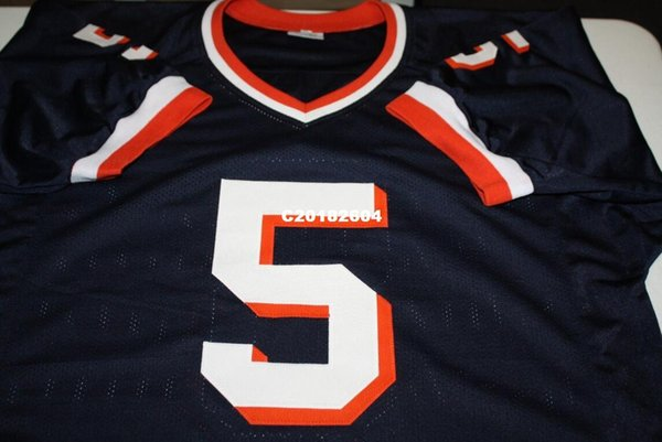 100% authentic 56097 b24d6 2018 Men SYRACUSE ORANGEMEN DONOVAN MCNABB #5 RETRO JERSEY Full Embroidery  Jersey Size S 4XL Or Custom Any Name Or Number Jersey From C20182604, ...