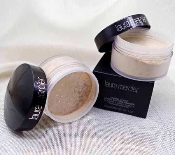 Shipping in 24 hour new black box laura mercier foundation loo e etting powder fix makeup powder min pore brighten concealer