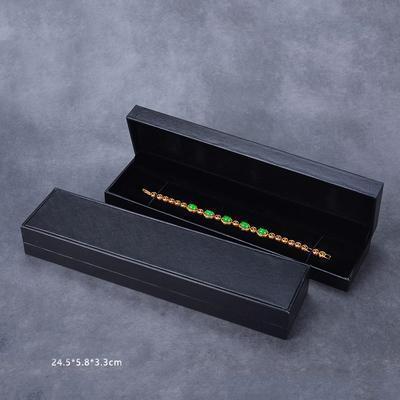 Браслетная коробка черного цвета
