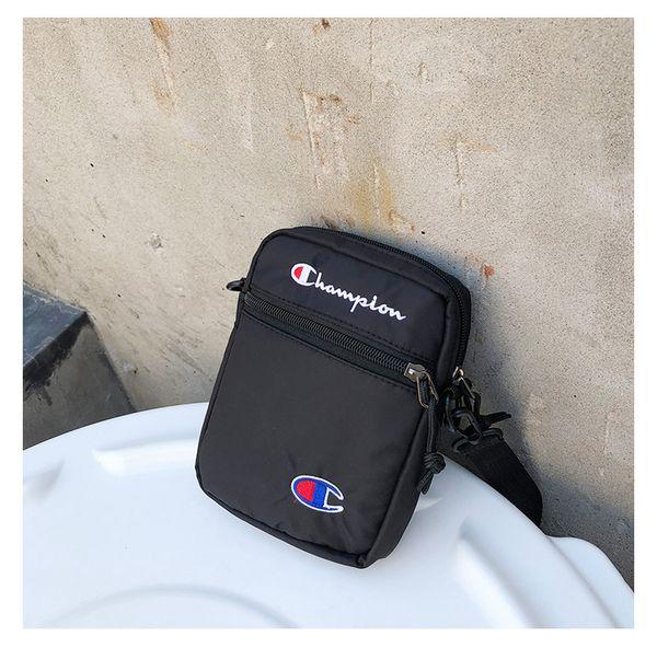 Champion One-shoulder Unisex Fashion Mini Crossbody Bag Single Shoulder Bag Travel Shopping Belt Packs Phone Wallets Hot B383
