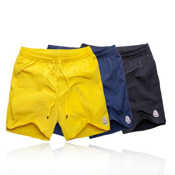 2019 New Men's Beach Shorts Mens Bermuda Boardshorts For Men Shorts Board Quick Dry Silver.