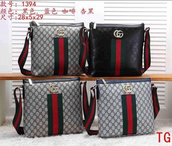 Rapid transportation High quality brand 2019 latest men's and women's wallet fashion shoulder bag Messenger bag handbag shoulder bag J22