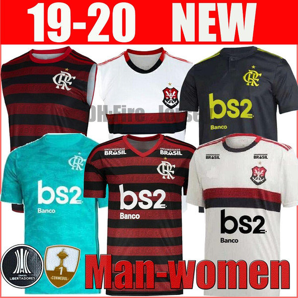 19 20 flamengo man woman polo jersey 2019 2020 Flemish GUERRERO DIEGO VINICIUS JR Soccer Jerseys Brazil Flamengo sports football shirt