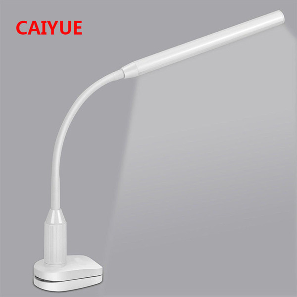 Eye Protect Led Table Study Desk Lamp Clamp Clip Light Office Stepless Dimmable Bendable Usb Touch Switch Sensor Control C19041803