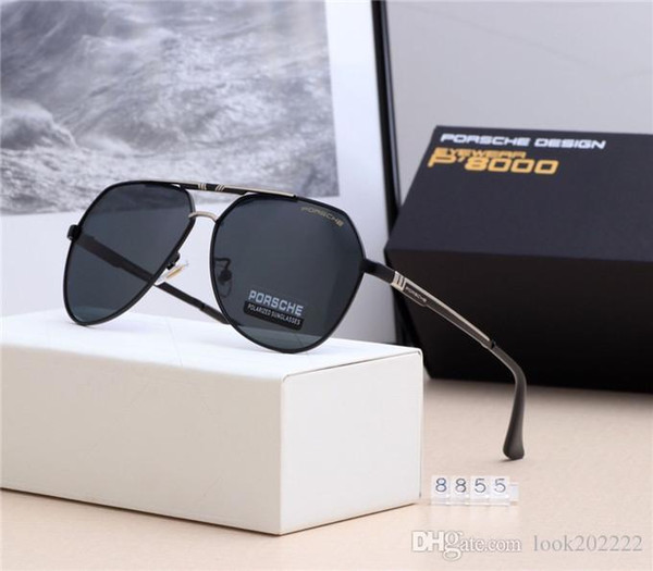 2020 19 New European And American Fashion Brand Luxury Designer Male Polaroid High End Polarized Sunglasses For High Definition Business From Twd0224 46 1 Dhgate Com