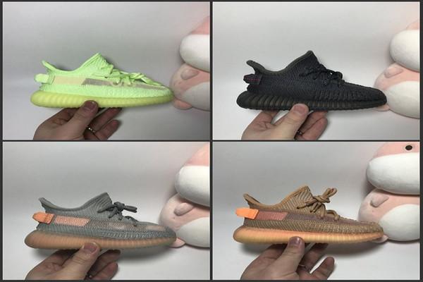 Çocuklar Çocuk Gençlik Krem Tüm Beyaz Statik 2.0 Bebek Bred Beluga Siyah Kırmızı bebekler Kany West Koşu Ayakkabıları Spor Sneakers