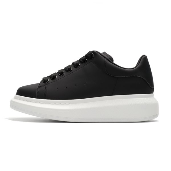 black with white sole