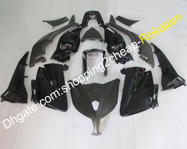 For yamaha tmax 530 2012 2013 2014 t max 530 tmax530 12 13 14 black port motorcycle aftermarket kit fairing injection molding