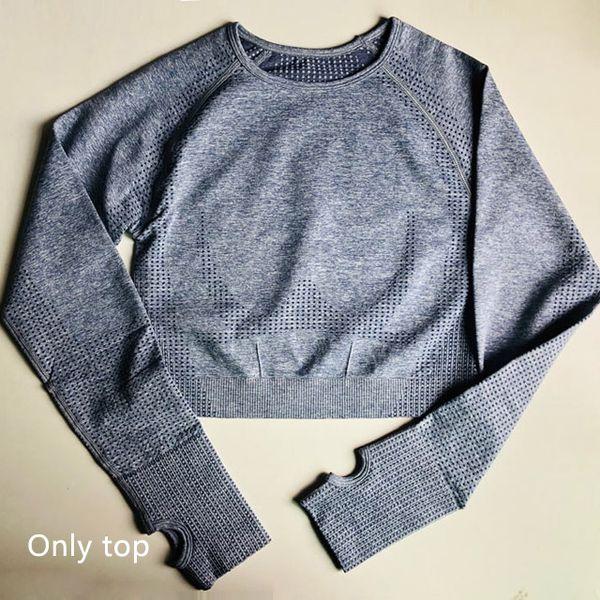 Blue gray Bra