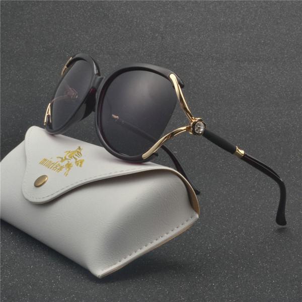 MINCL Hot Square Sunglasses Women 2019 Brand Designer Fashion Green Frame Sun Glasses Female UV400 Big Oversized Shades NX