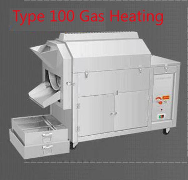 100 chauffage à gaz de type
