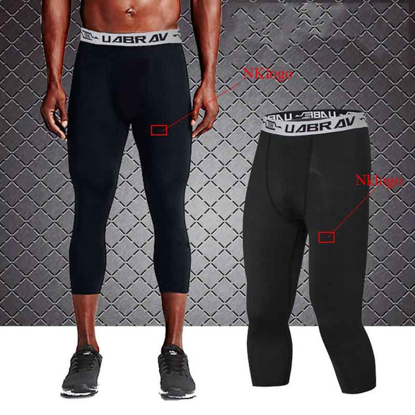 Gym compression compression à séchage rapide pantalon de fitness élastique entraînement de basket-ball running running jambières à séchage rapide