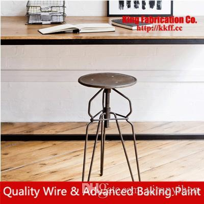 Old retro bar furniture, wrought iron antique Dining chairs living room lounge chairs coffee shop