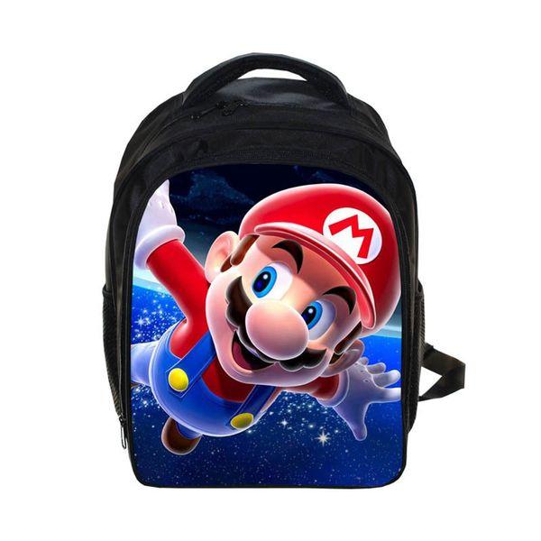 1pcs Mario backpack