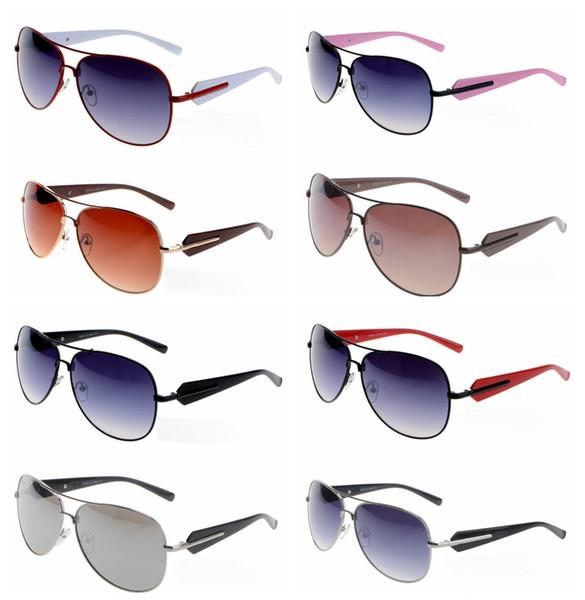 2018 Excellent Quality 58012 Ray Aviator Sunglasses Bans Frame Glass Lenses Brand Designer Sunglasses for Man Women