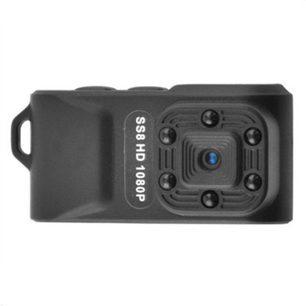 SS8 HD 1080P sport Digital camera portable Camcorders Video recorder 6 lights infrared night visionvDV support 64G memory card HD Cam