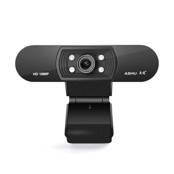 top popular ASHU Webcam 1080P USB 2.0 Web Digital Camera with Microphone Clip-on Full HD 1920x1080P 2.0 Megapixel CMOS Camera Web Cam 2021