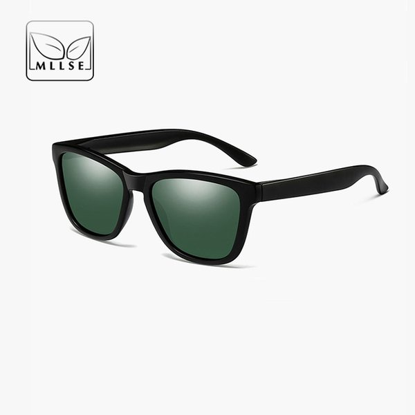 MLLSE Diseñador de la marca Cuadrados Gafas de sol deportivas Hombres  Mujeres Gafas de sol Moda 1cf7e632ab21