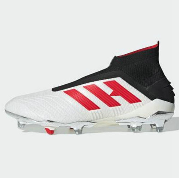 New 2019 Predator 19 Pogba Mens Women Youth Fg Football Boots Archetic Virtuso Kids Soccer Cleats High Ankle Chaussures Shoes Size 35-45