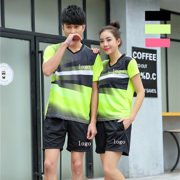 K6 Badminton Suit Sportswear for Men and Women Short Sleeve T-shirt for Leisure Running Basketball casual wear Table tennis Y5043