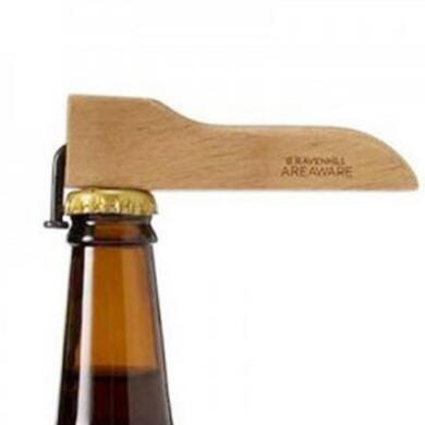 Creative Magnet Beer Bottle Opener Corkscrew Coke Juice Beverages Opener Wooden Handle With Nail Design Nail Wood Opener CCA10780 220pcs