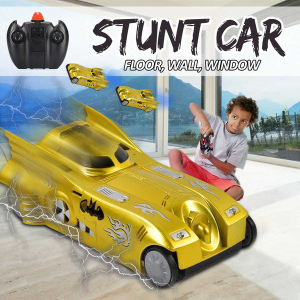 2.4GHZ LED Lights RC Wall Climbing Stunt Car Remote Control Ceiling Glass Wall Floor Racing Car Electric RC Racer Toys Kids Gift