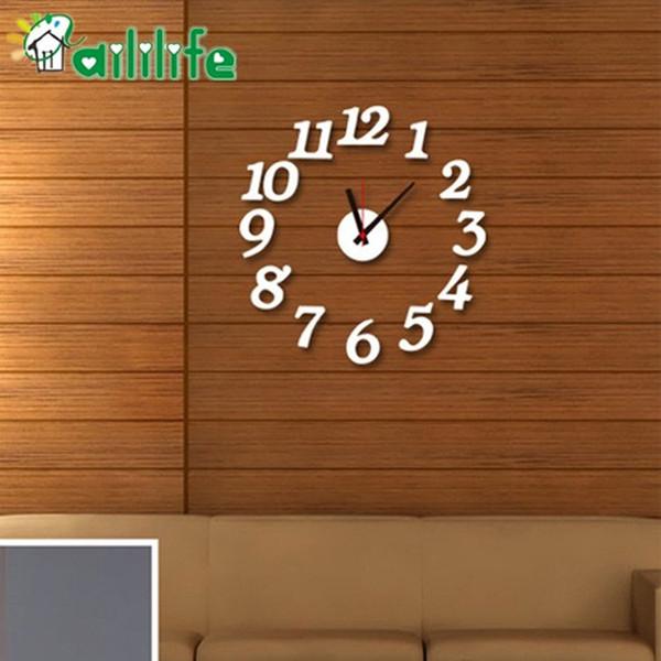 diy wood wall decor.htm diy clock wall post wall clock acrylic silent digital decorative wall  wall clock acrylic silent digital