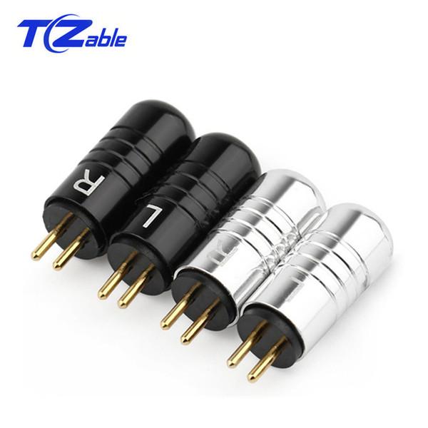 10 Paar Kopfhörer Stecker Adapter 0,78mm Kopfhörer Pin FIFI Stecker Für JH JH16 JH11 Audio Adapter Stecker AUX DIY Headset Solder Plug Jack