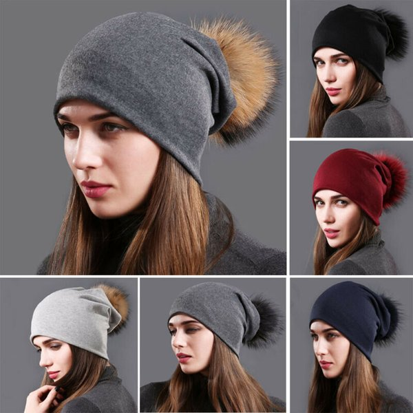 New Women Mens Unisex Oversized Slouch Baggy Hat Cap Knit Beanie Ski Winter Warm