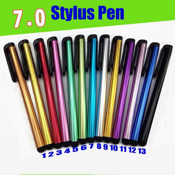 Thin Capacitive Touch Screen Pen Stylus For Phone Samsung Phone Tablet VV