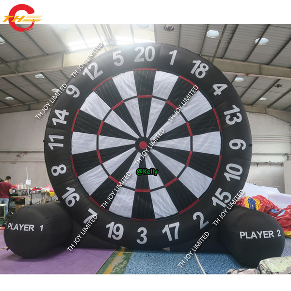 top popular portable inflatable soccer football dart sport game high quality giant inflatable dart board soccer golf dart game for sale 2021