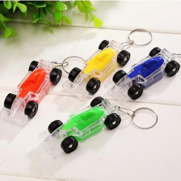 ON SALE COLORFUL RACING CAR VEHICLE LED LUMINOUS KEYCHAIN KEYRING TOP CUTE CHARM KEY CHAIN KEY RING LOVELY KEYS GADGET ACCESSORIES